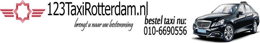 Taxi Rotterdam header image